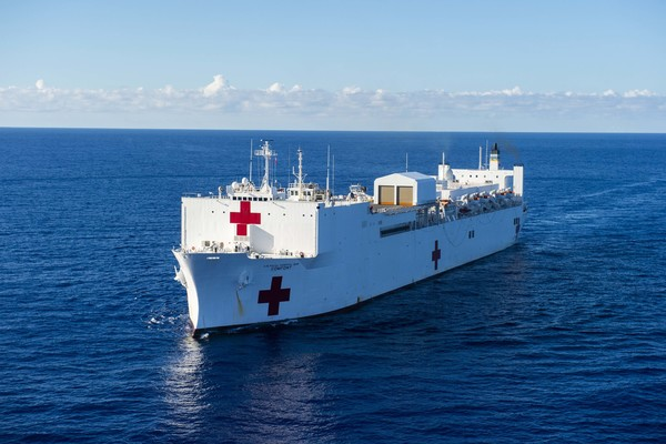 USS Navy Ship Comfort