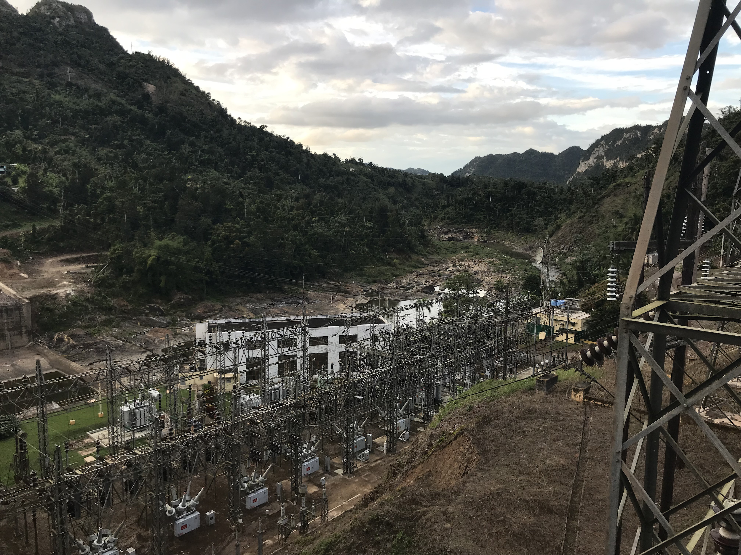 Dos Bocas Hydroelectric Plant