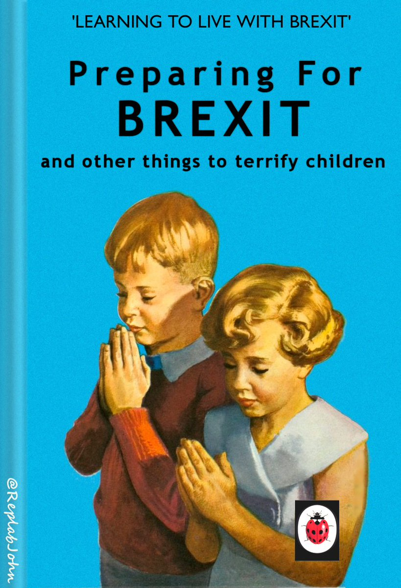 - Ladybird have produced some hilarious after-Brexit publications.In the Ladybird Brexit series you will find titles such as :--Rising Prices, picturing a smiling mother and children outside the bakery-Five Share a Hospital Bed, featuring Enid Blyton's Famous Five-The Nurse, (Job stealing Immigrants)-Stockpiling FoodAll the above and many more use original Ladybird book covers, but adapt them to fit the Brexit theme.