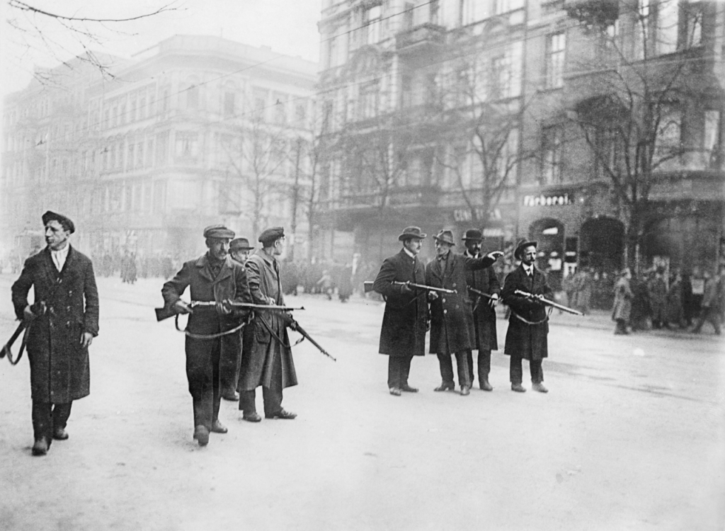 Spartacists on the streets of Berlin