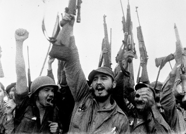Twenty years before his United Nations speech, Fidel Castro oversaw the success of the a Cuban revolution which banished capitalism from the Caribbean island.