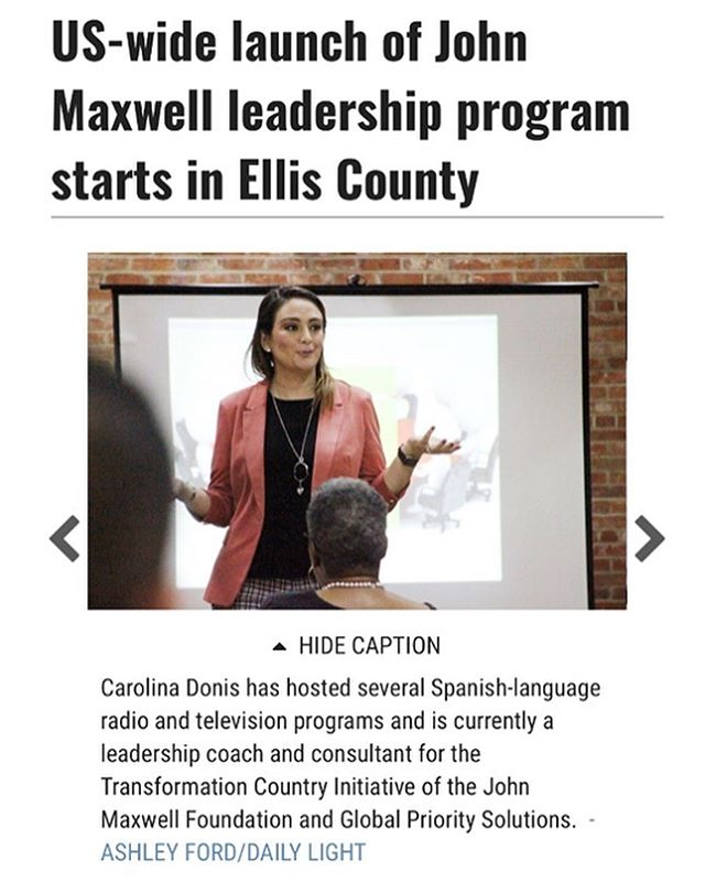 Check out the article that the Waxahachie Daily Light wrote about Beyond Success US at https://www.waxahachietx.com/news/20190603/us-wide-launch-of-john-maxwell-leadership-program-starts-in-ellis-county.