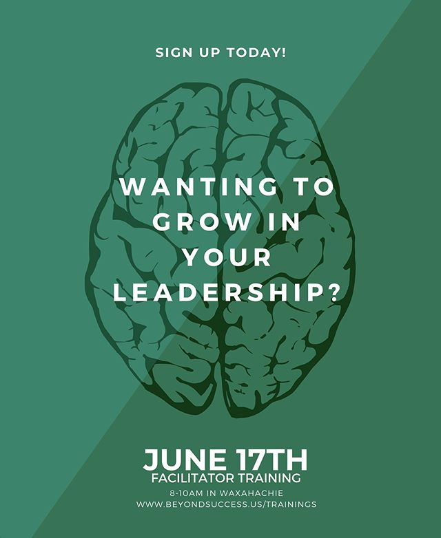 THIS MONDAY from 8-10am in Waxahachie, Waxahachie City Park and Recreation will be hosting a Facilitator Training. We hope to see you there! SIGN UP NOW at www.beyondsuccess.us/trainings.  #beyondsuccess #beyondsuccessus #johnmaxwell #leadership #johncmaxwell #redoak #waxahachie #midlothian #elliscounty #roundtables