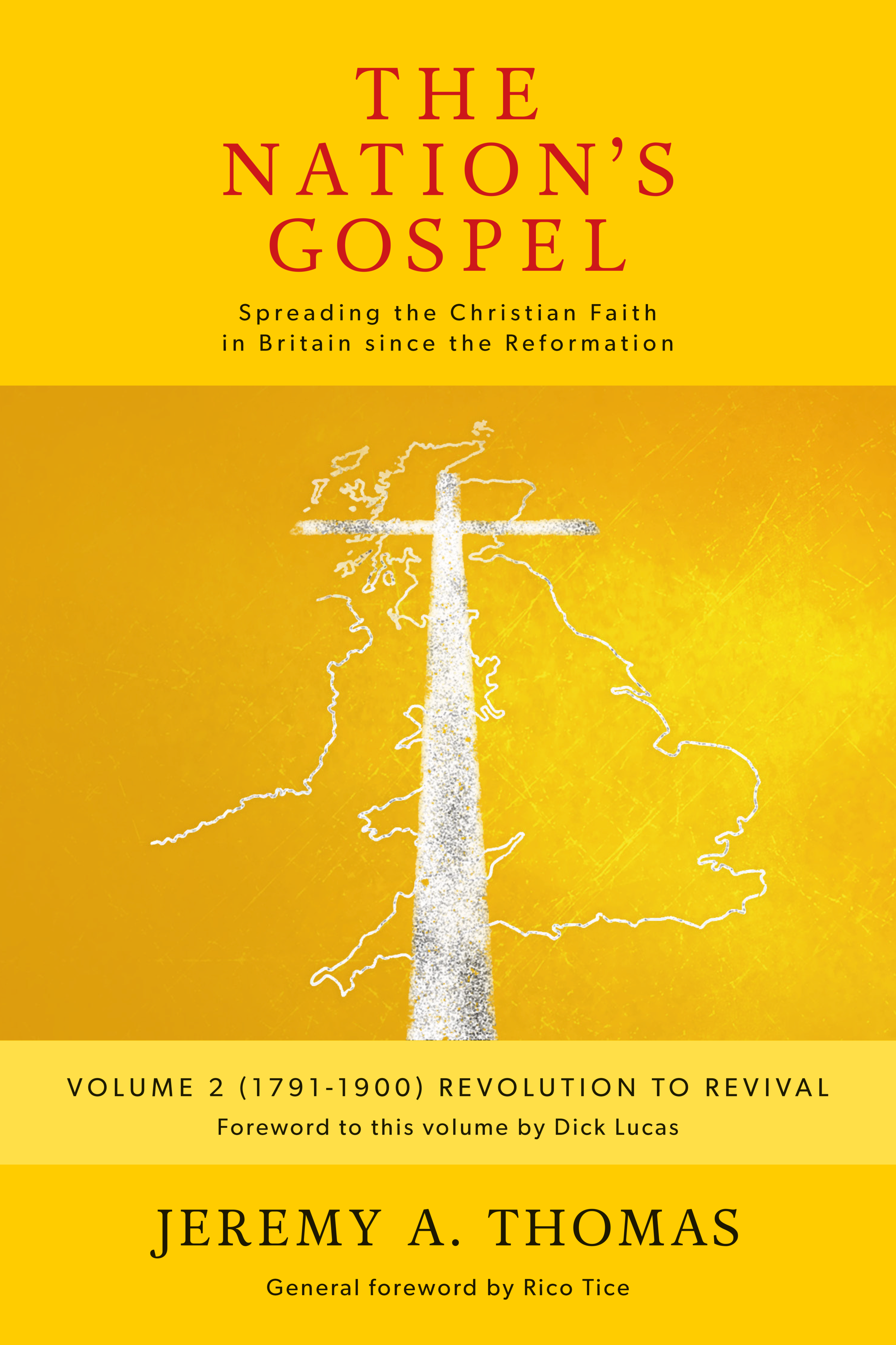 The Nation's Gospel Vol 2 (1791-1900) - Relates the expansion of evangelism and Christian social work in the 19th centuryExpected release: Early 2020