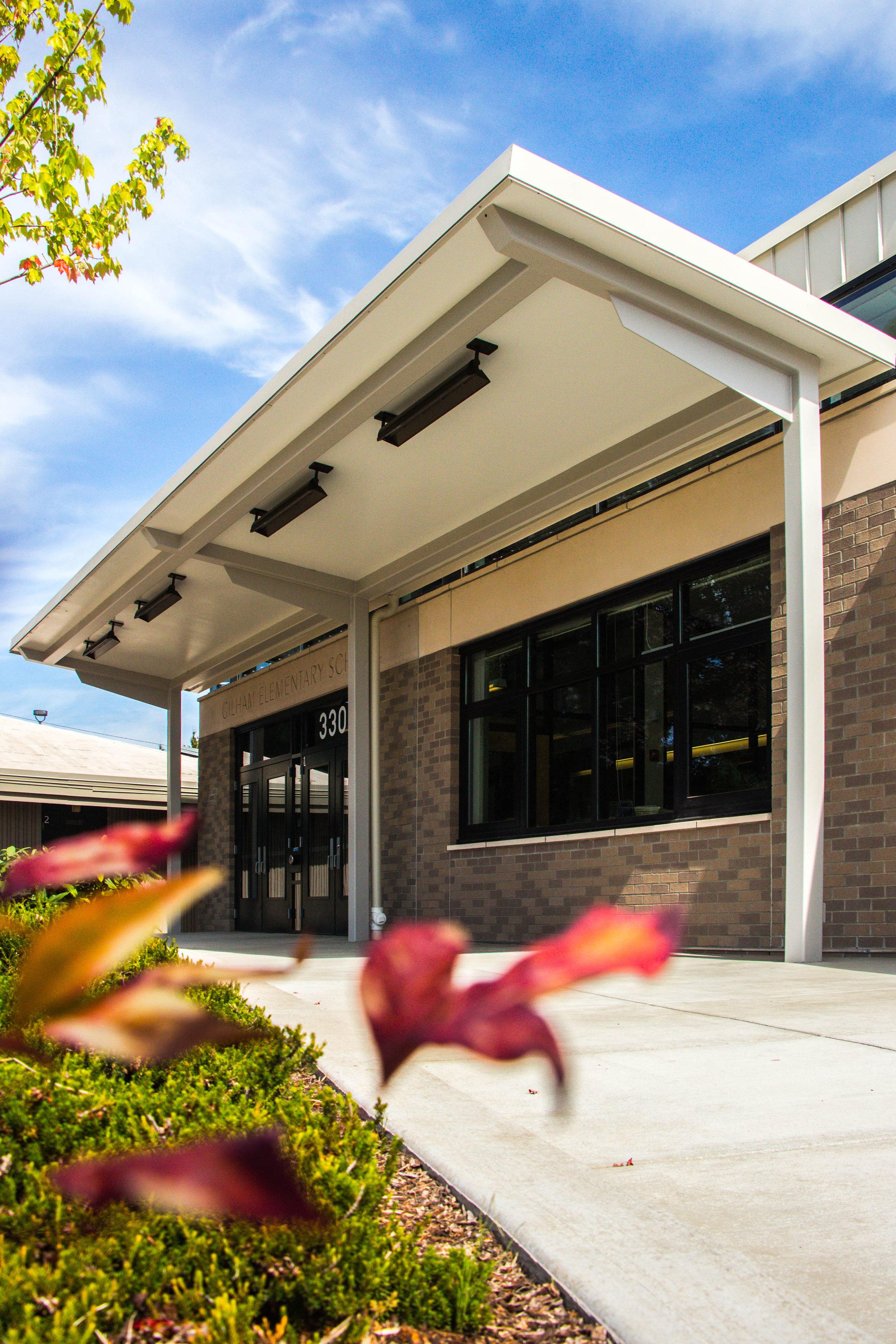 Gilham Elementary School - Entry