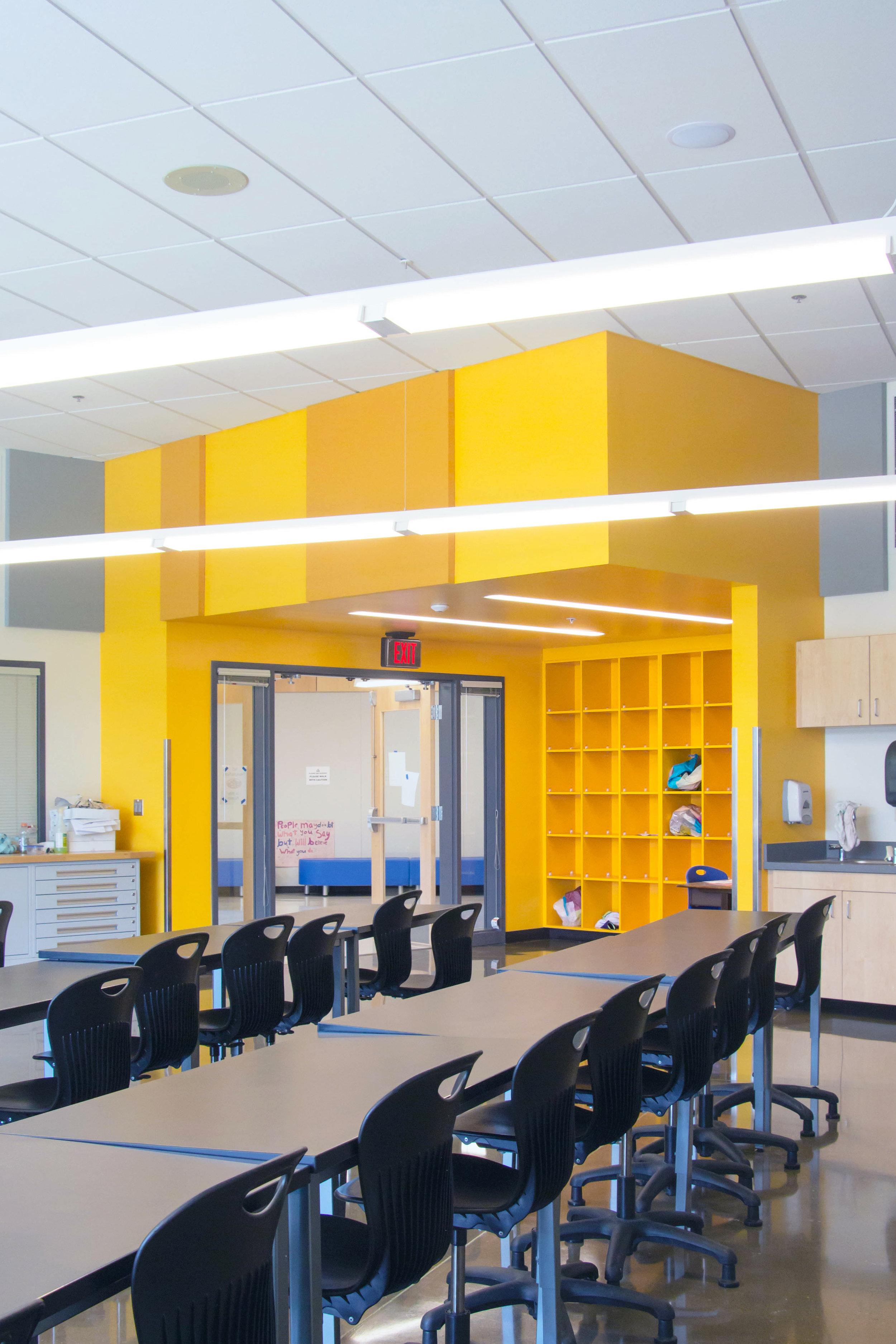 Gilham Elementary School - Classroom