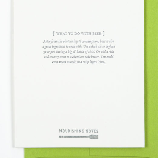 Nourishing Notes Greeting Cards