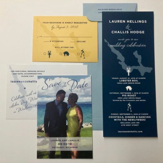custom blue and yellow wedding suite by Poeme www.poeme-online.com