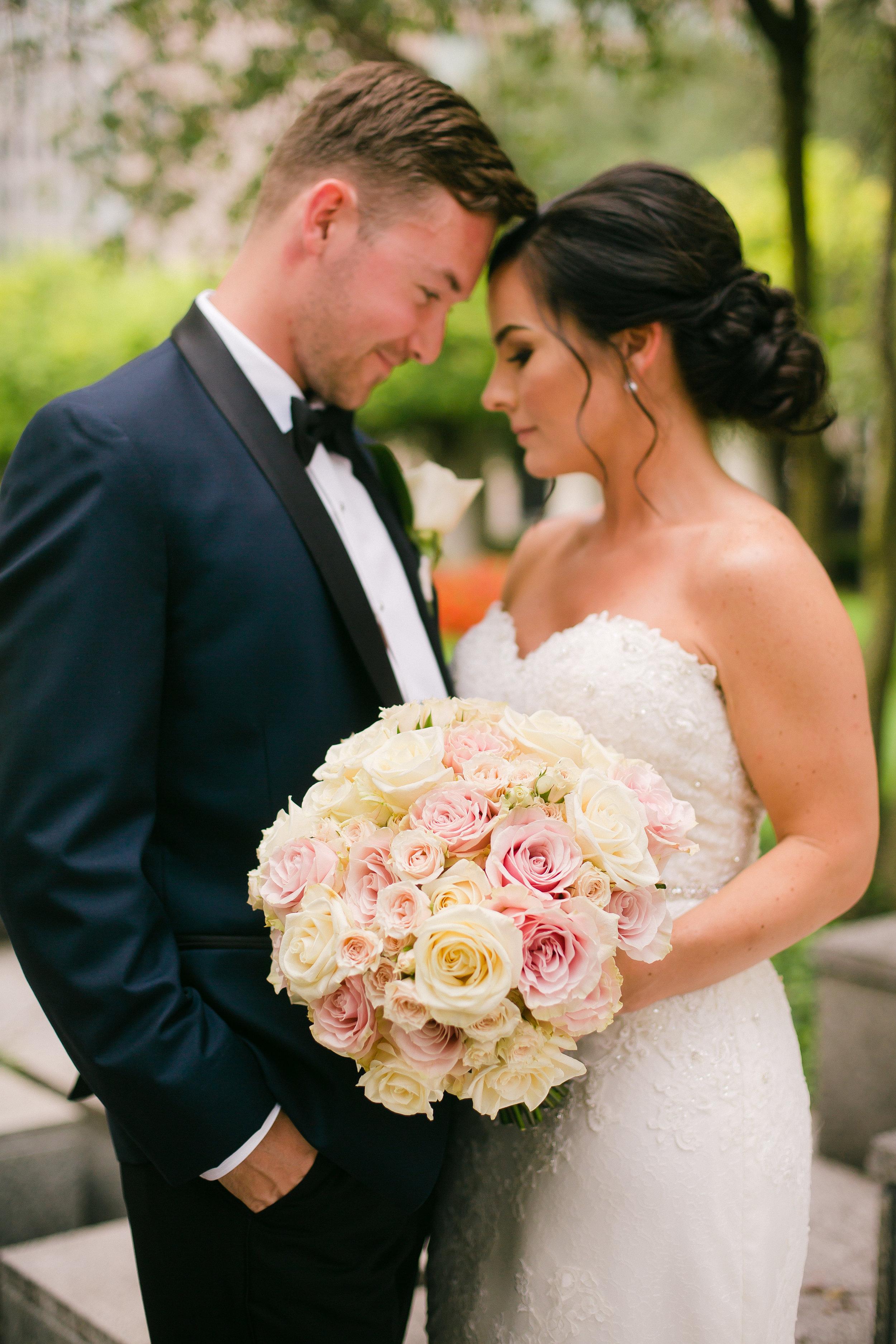 Cincinnati wedding day with stationery by Poeme