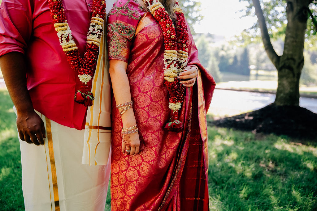 Cincinnati wedding celebration with traditional Indian elements. Photo: Claire & Barrett Photography