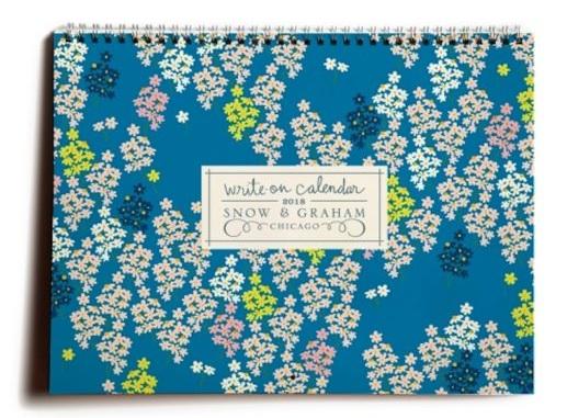 Snow & Graham Write On Calendar
