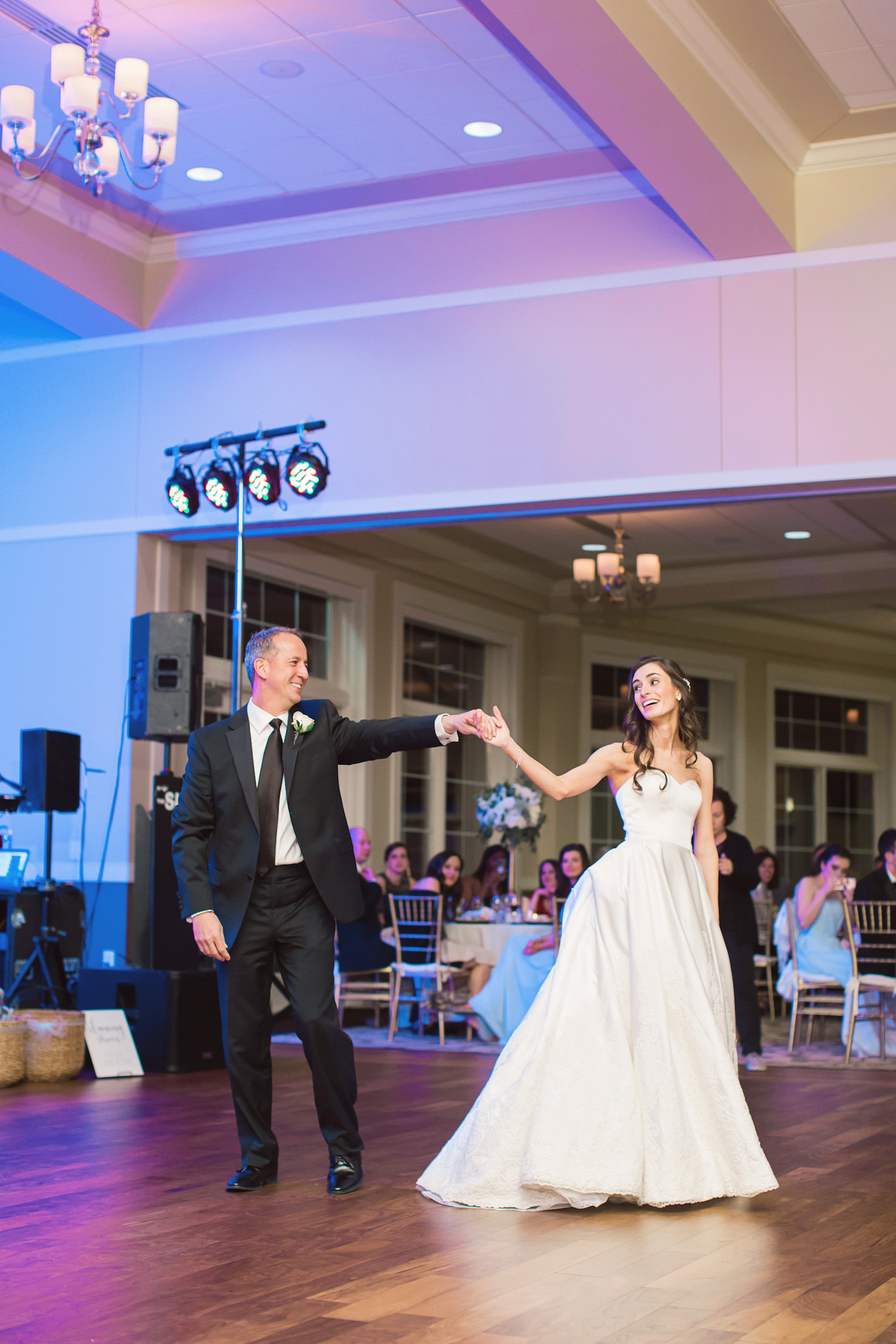 Cincinnati wedding day at Cooper Creek Event Center with navy and pale blue palette. Amanda Donaho Photography