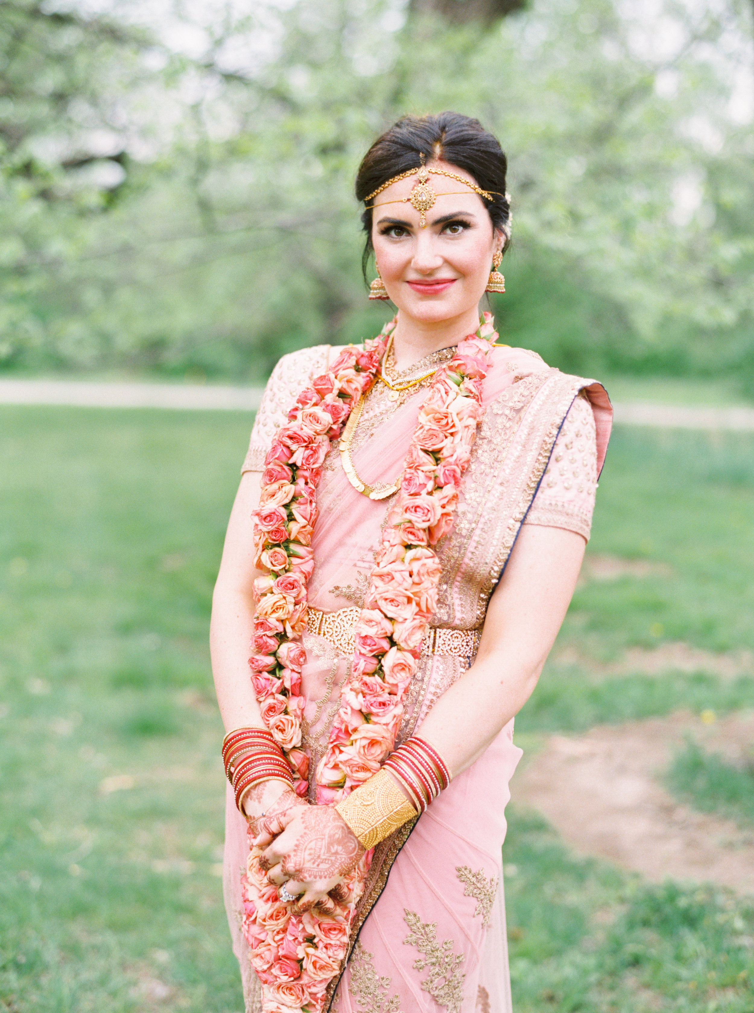 Cincinnati wedding day with south Indian motif