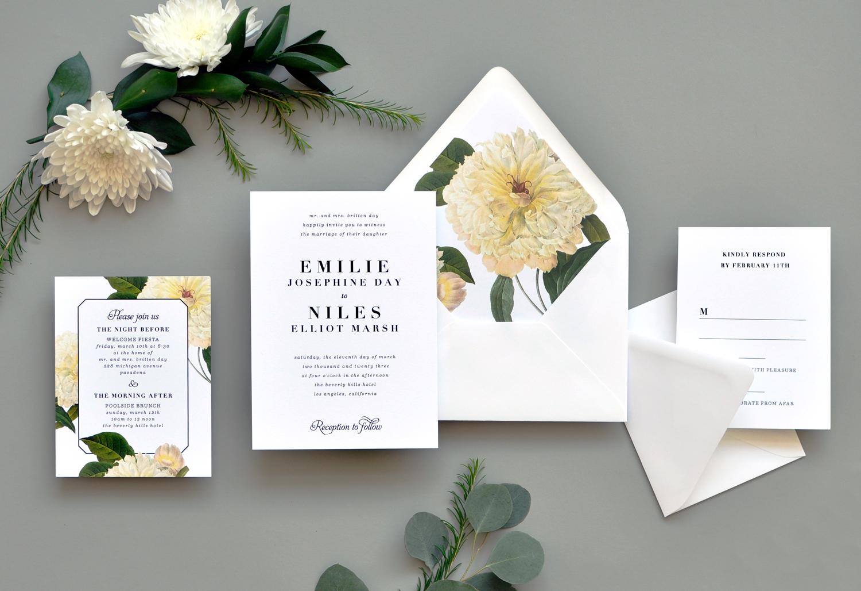Classic Belle Wedding Invitations