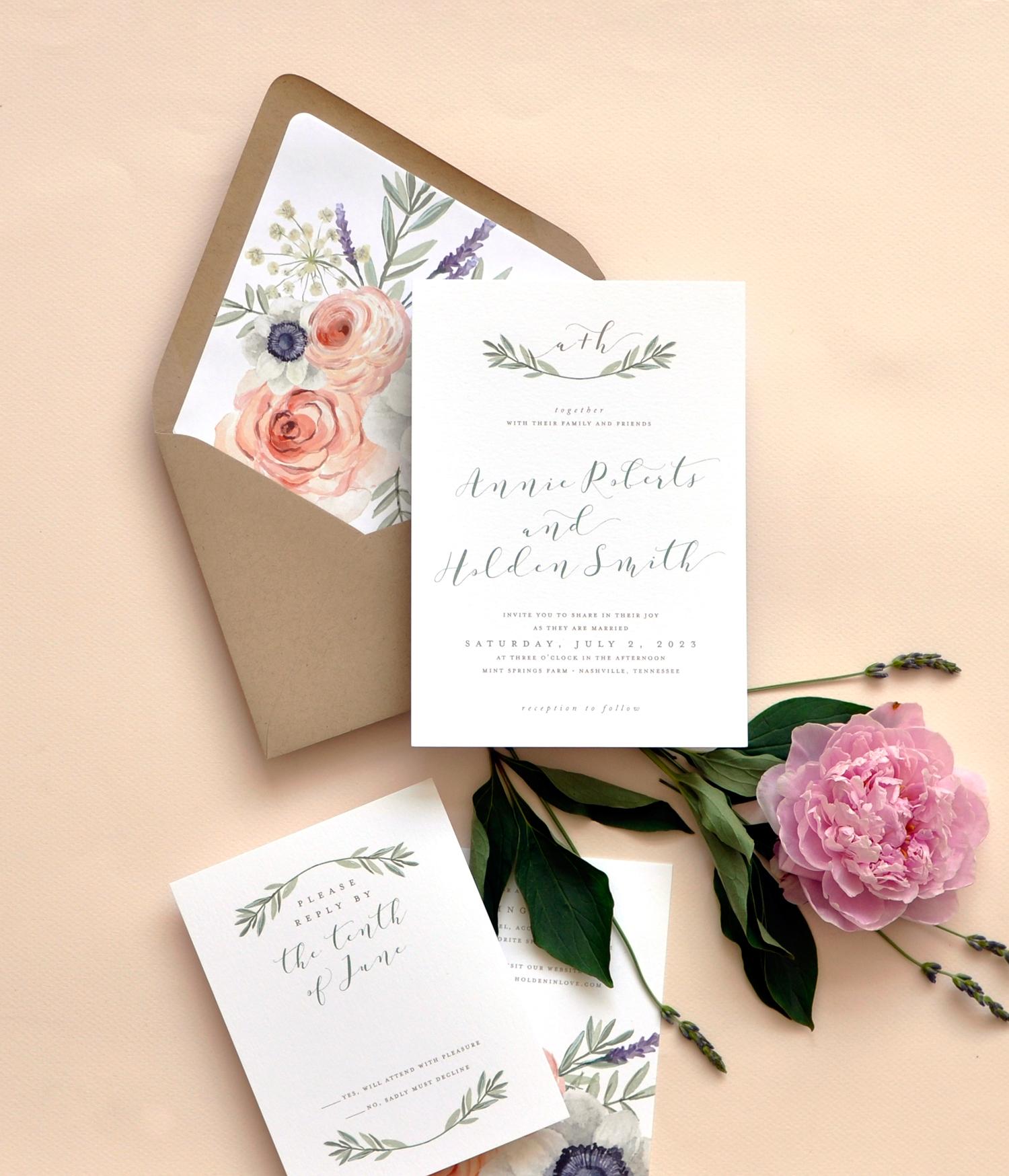 Wild Rose Wedding Ensemble