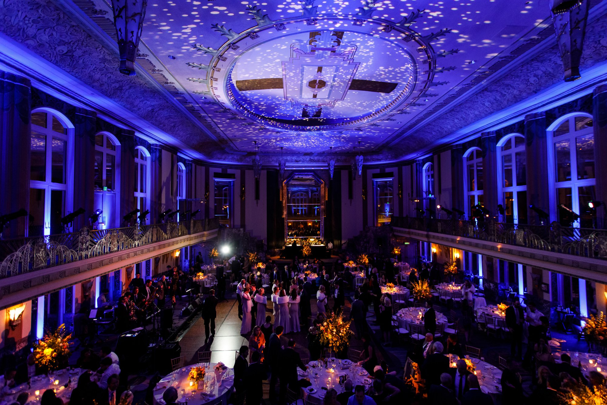 Wedding at the Cincinnati Club with stationery by Poeme