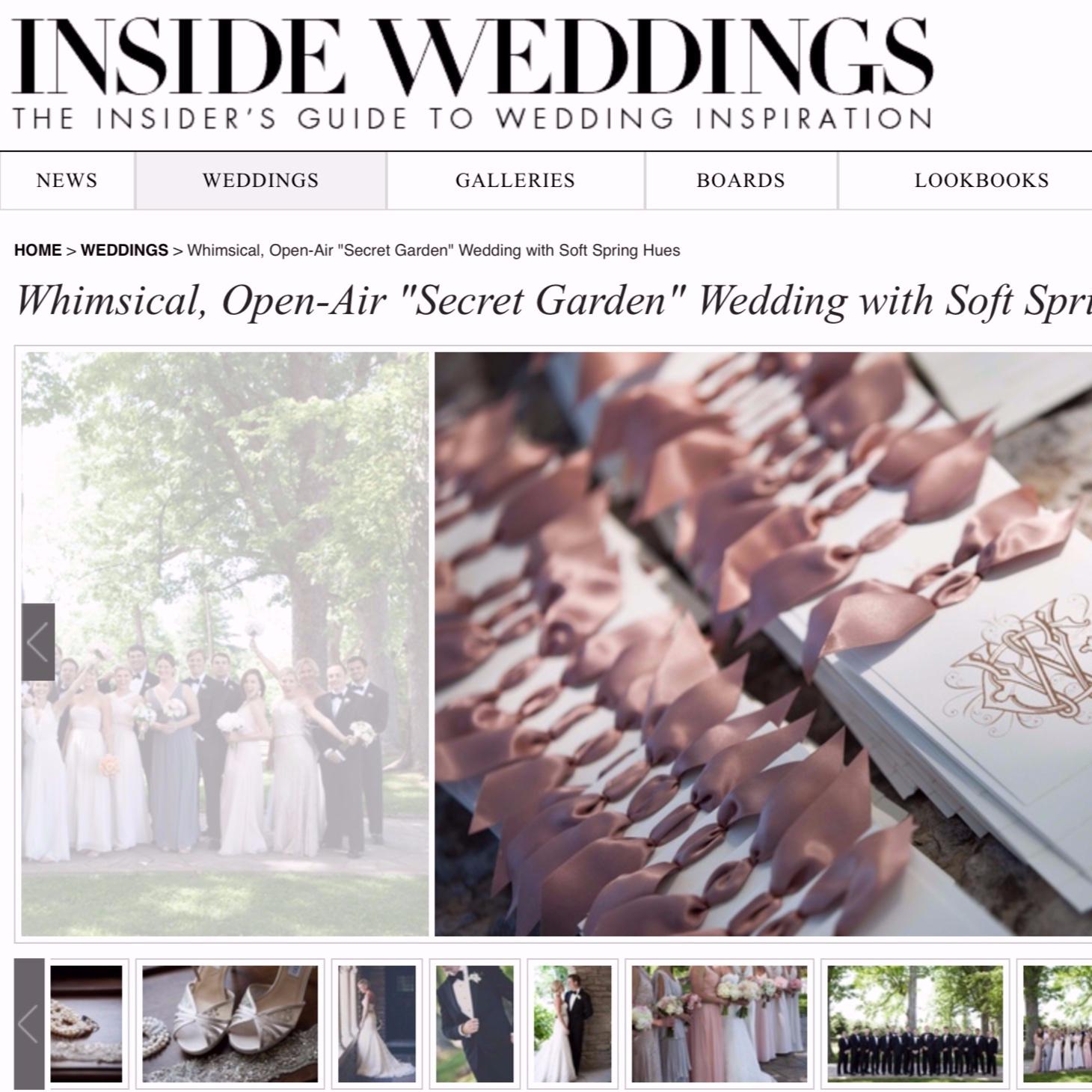 Whimsical Secret Garden Wedding