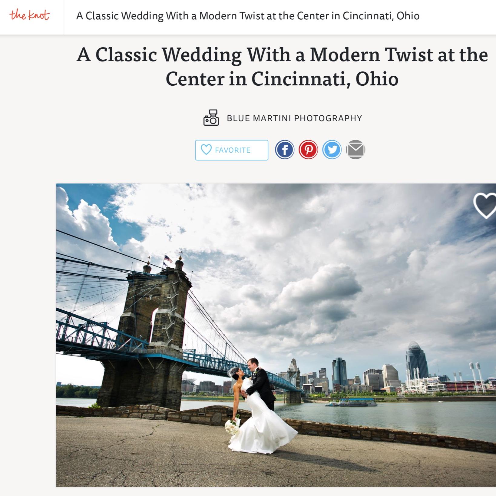 Blush & Gold Wedding at The Center