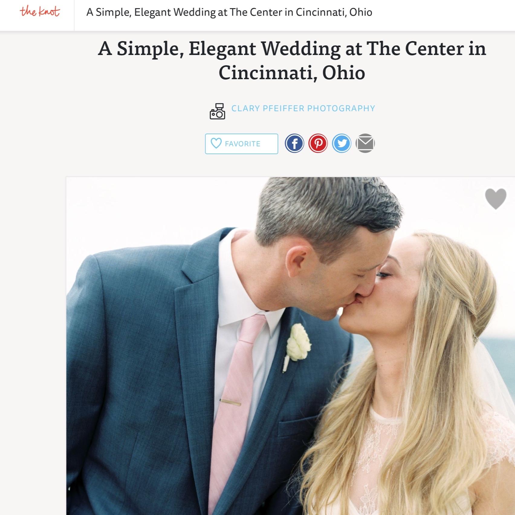 Simple, Elegant Wedding at The Center