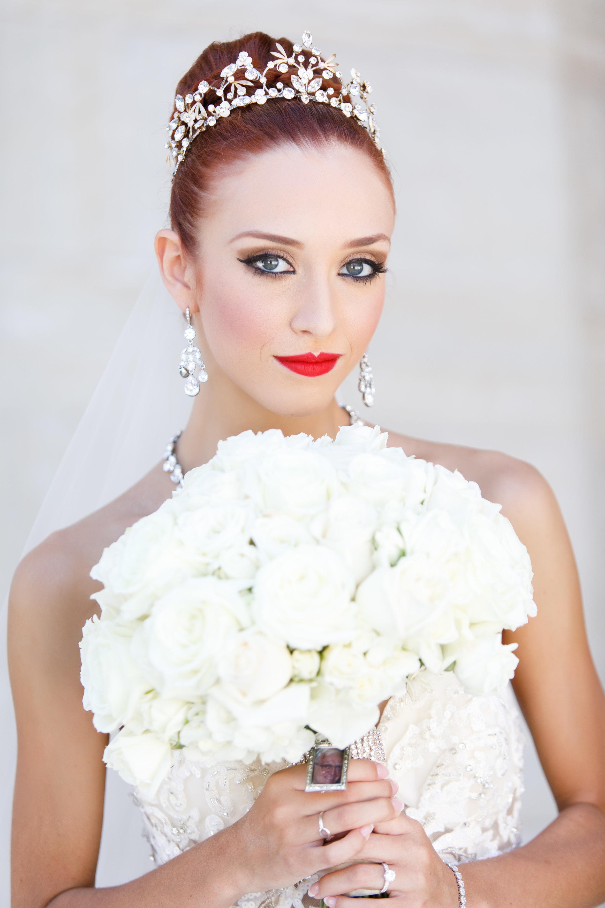 A ballerina is married in Cincinnati in a glamorous fairy tale wedding. Stationery by Poeme. www.poeme-online.com