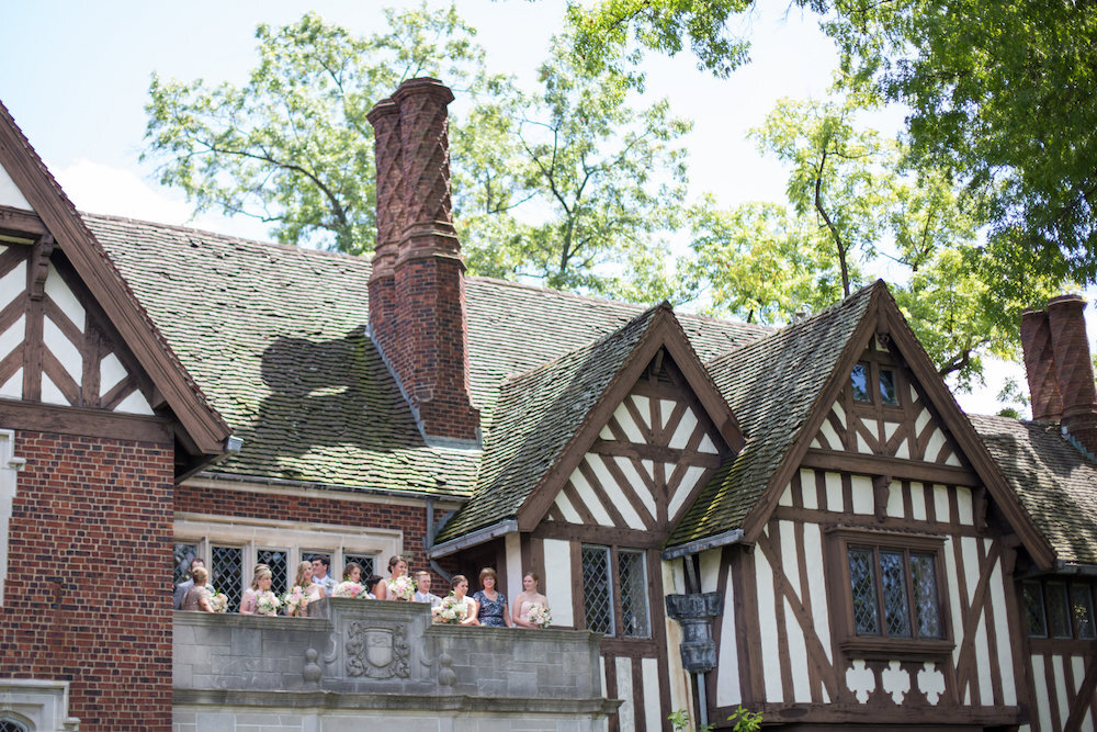 Cincinnati wedding at Pinecroft at Crosley Estate with stationery by Poeme