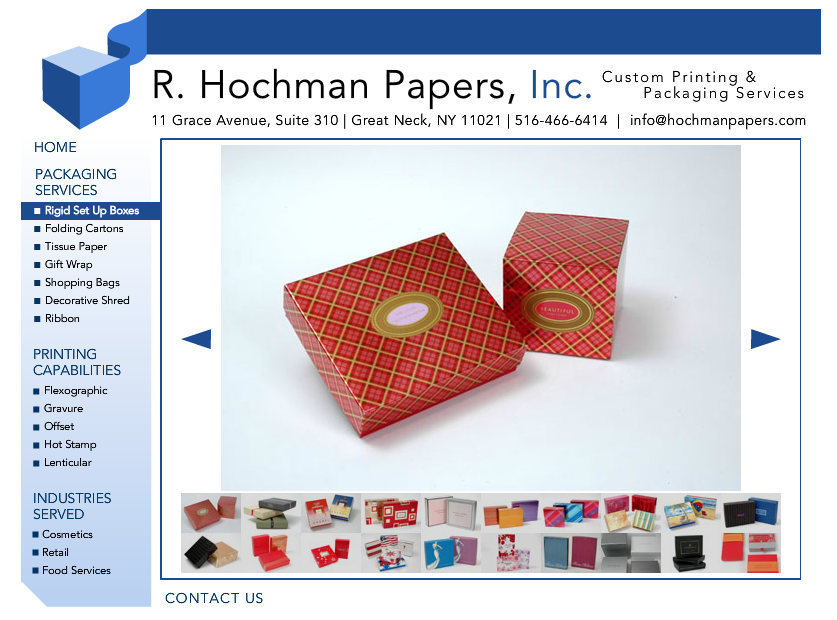 Old Hochman Product Detail Page