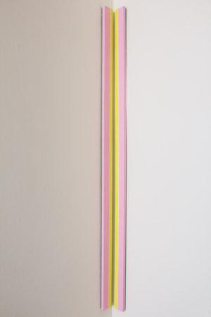 Patricia Zarate, On Slender Stems (pink) , 2017