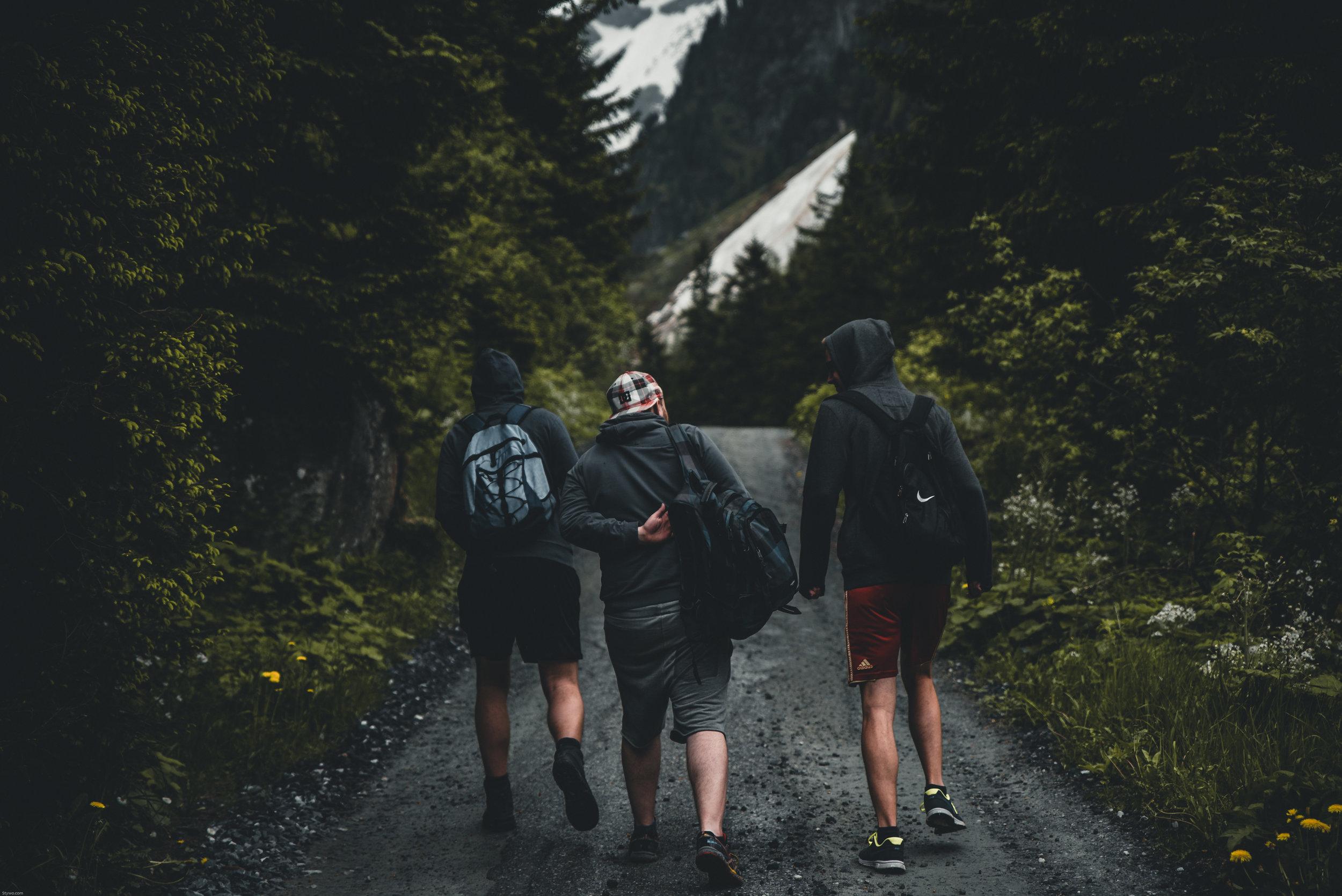MEN'S LIFE GROUPS - Groups just for men.