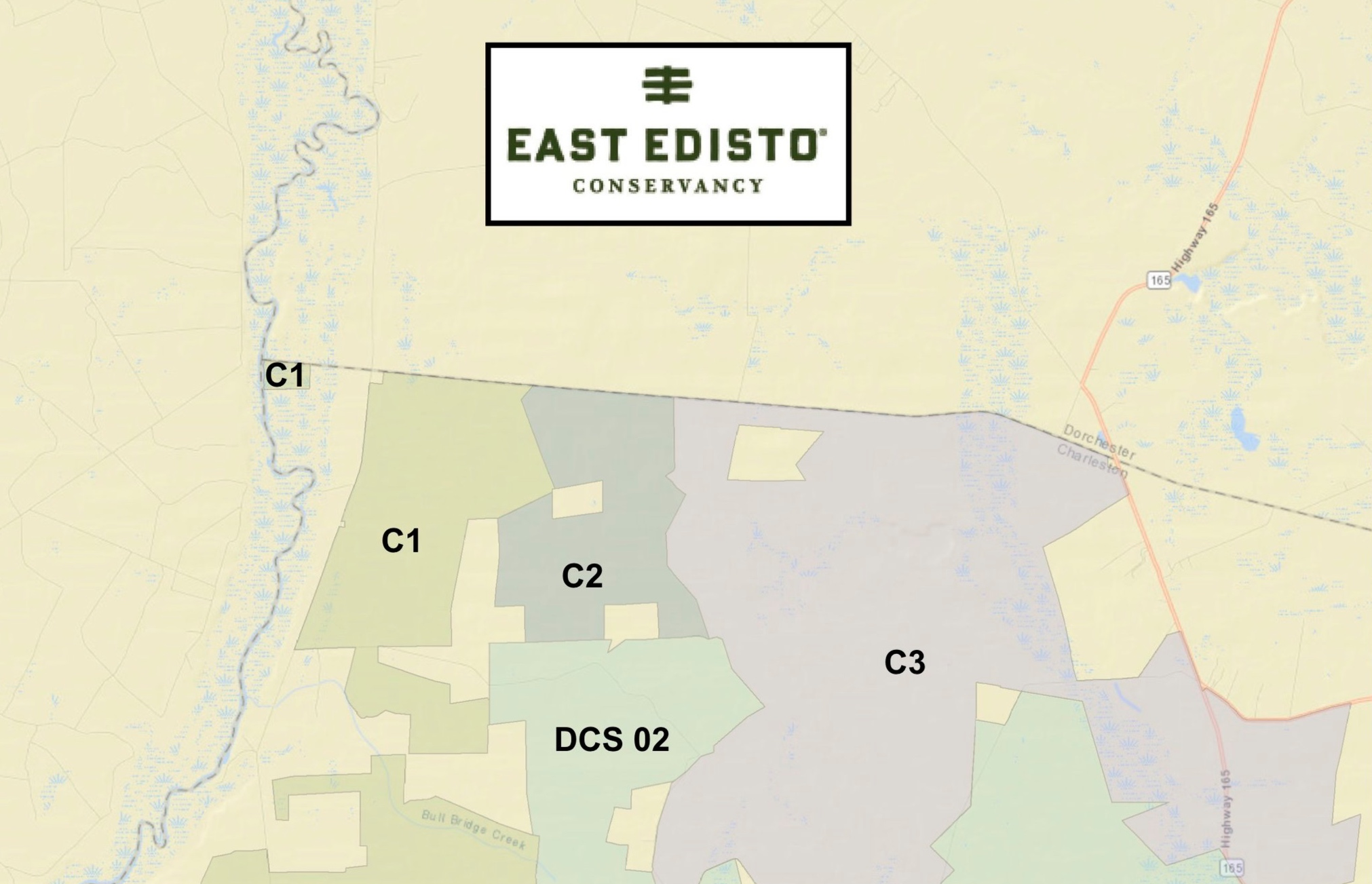 MAPS - These maps are provided to help landowners and potential landowners understand the impact of the covenants on their property or properties they are considering purchasing.
