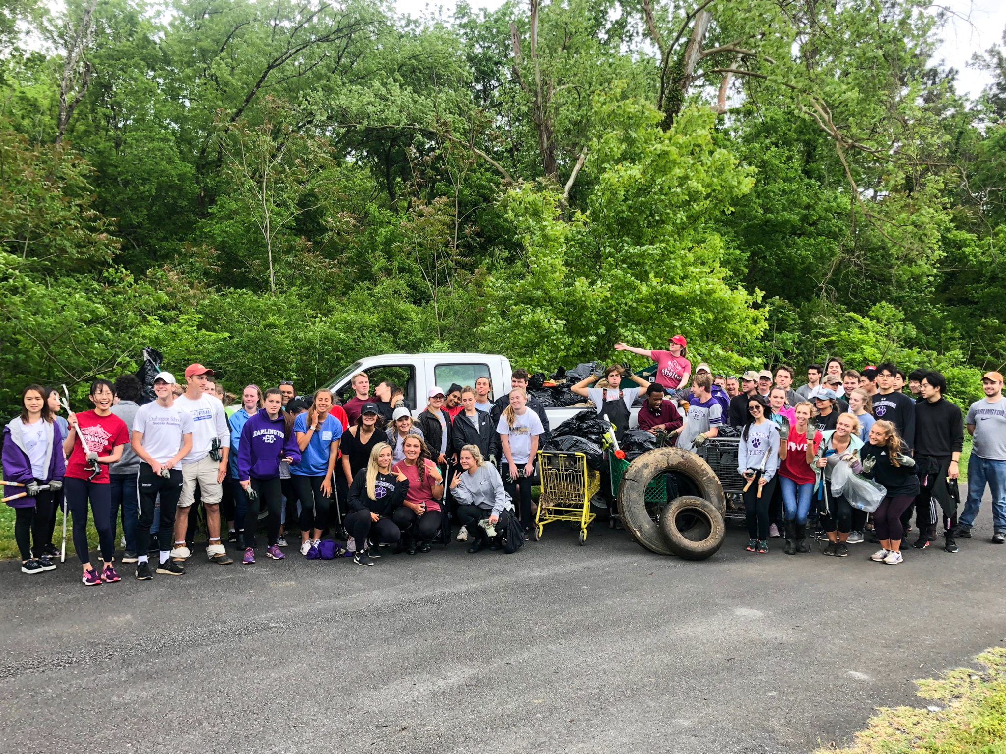One of many local cleanups hosted by Keep Rome-Floyd Beautiful