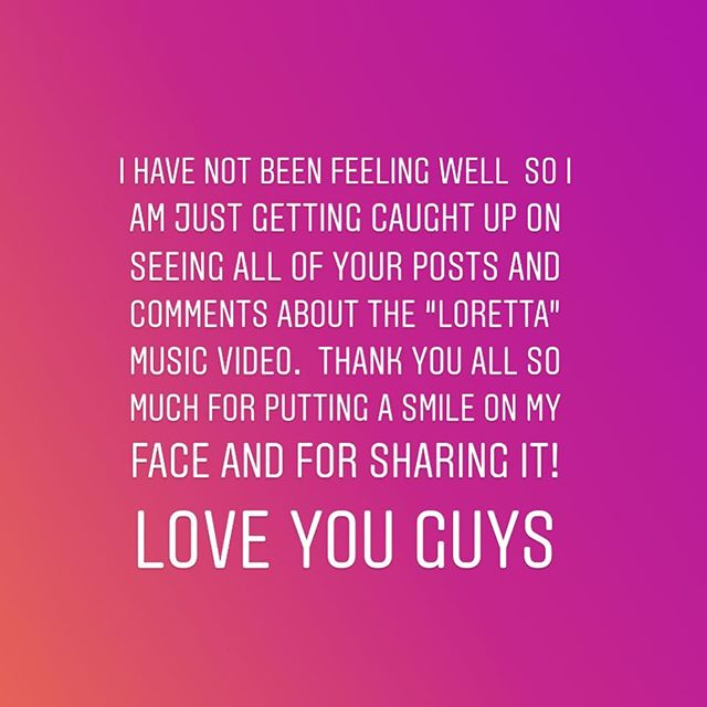 Love you guys, thanks so much for all of your sweet words about the music video! ❤️❤️❤️❤️❤️
