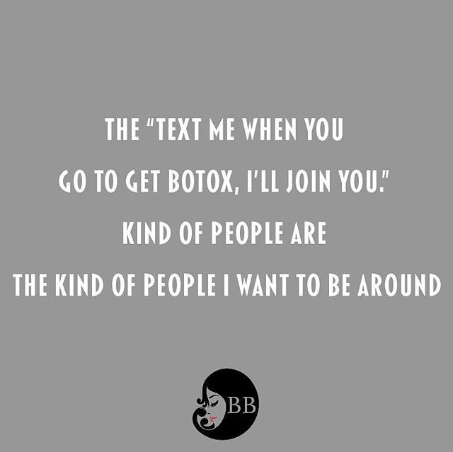 My kind of people! 🙋🏼♀️🙋🏽♀️ Motivation Monday!!! #botox #botoxbesties  #bff  #friends  #goals