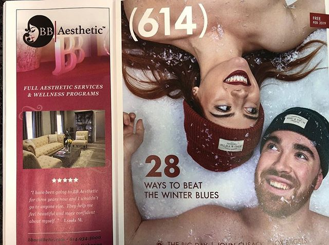 Lovin' our new BB ad in 614 magazine!!!! Check it out! ❤️💕 @614magazine  #614 #asseenincolumbus  #aesthetic  #skincare #fillers  #botox #dysport #microblading #skin #beauty #fitness  #wellness