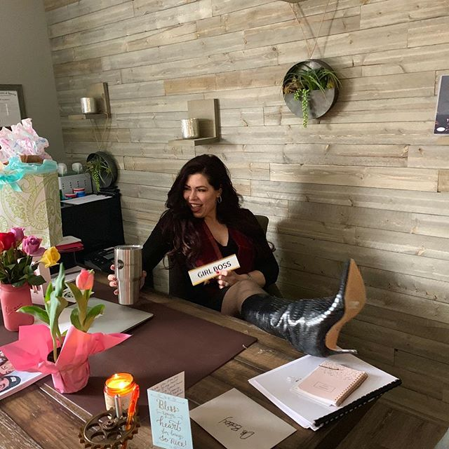 There's no other place I'd rather be than with my family, friends and awesome team on my birthday! Woke up to beautiful flowers and gifts from my kids. And all the amazing gifts from my friends and clients !! I LOVE you all!! Thanks for making today a special day! 💋💋💋 And thank you Dr. J for my 29th bday cake!!! ❤️