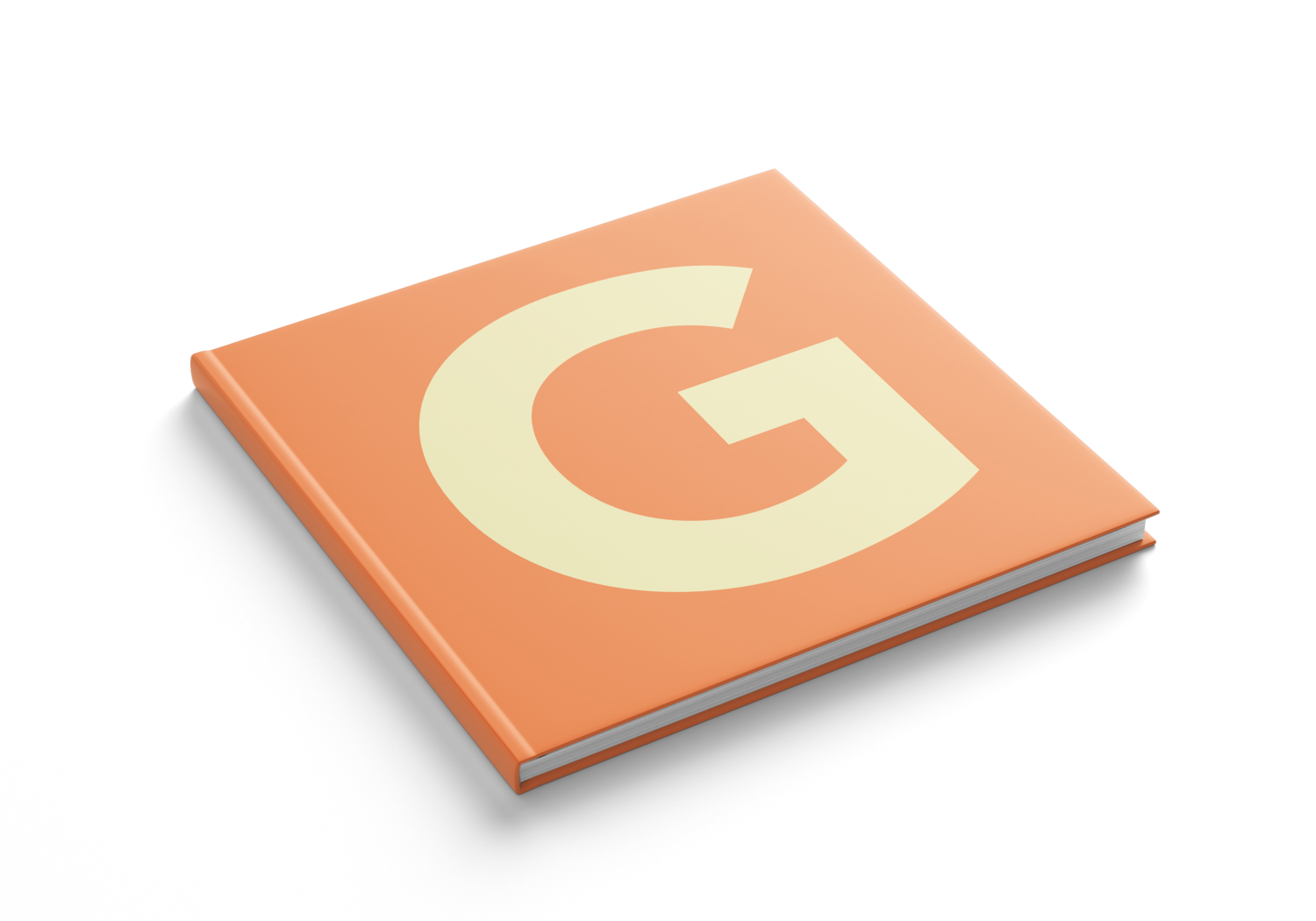 Book Design: The Letter G — Sarah Pronio