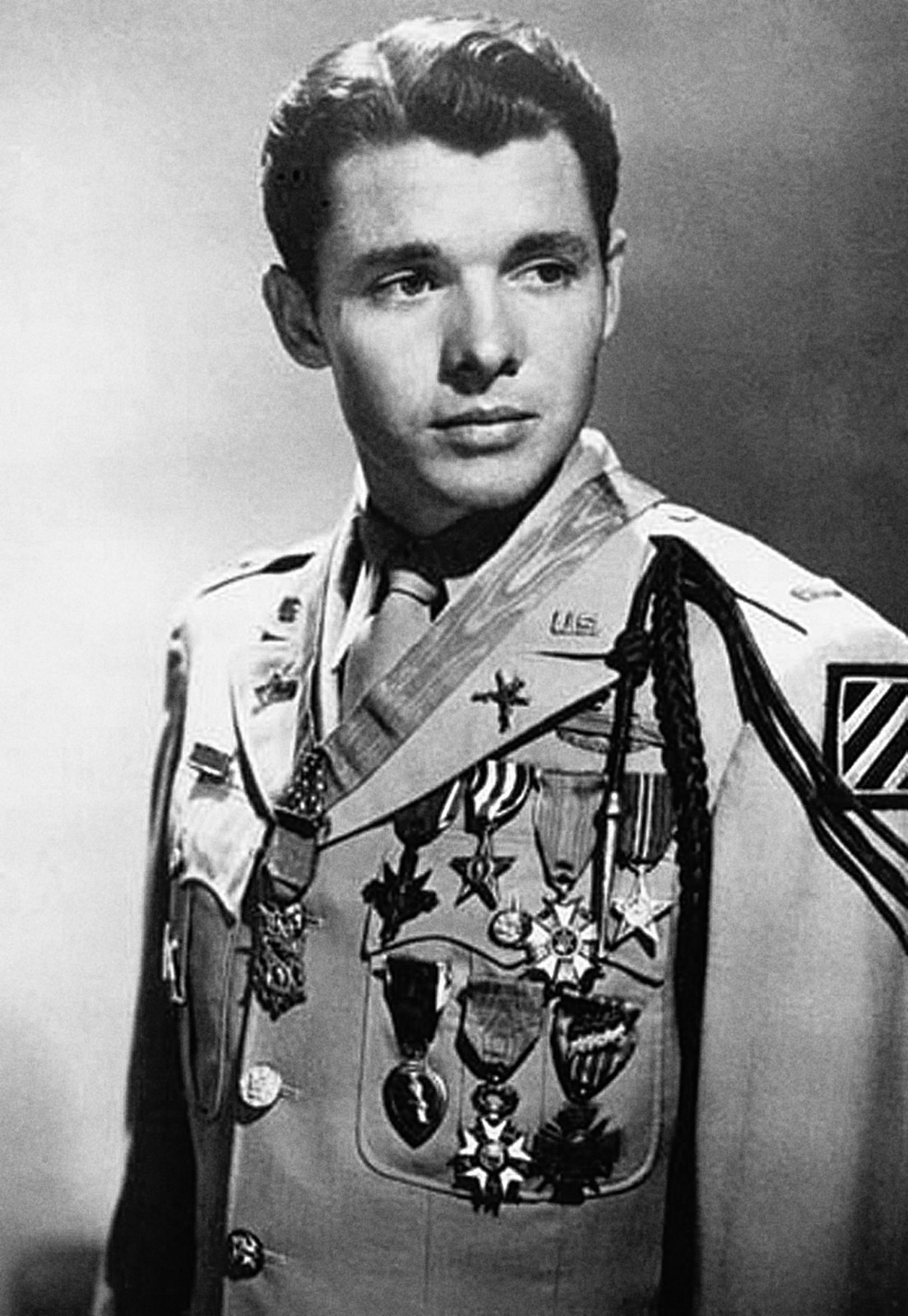 Episode one - Audie L. Murphy is one of the most decorated American soldiers of World War II. He served in the 3rd Infantry Division and fought in North Africa, Italy, France and Germany. He received the Medal of Honor for singlehandedly fighting back six German Tiger tanks. His story is here. Audie L. Murphy is buried in Section 46.