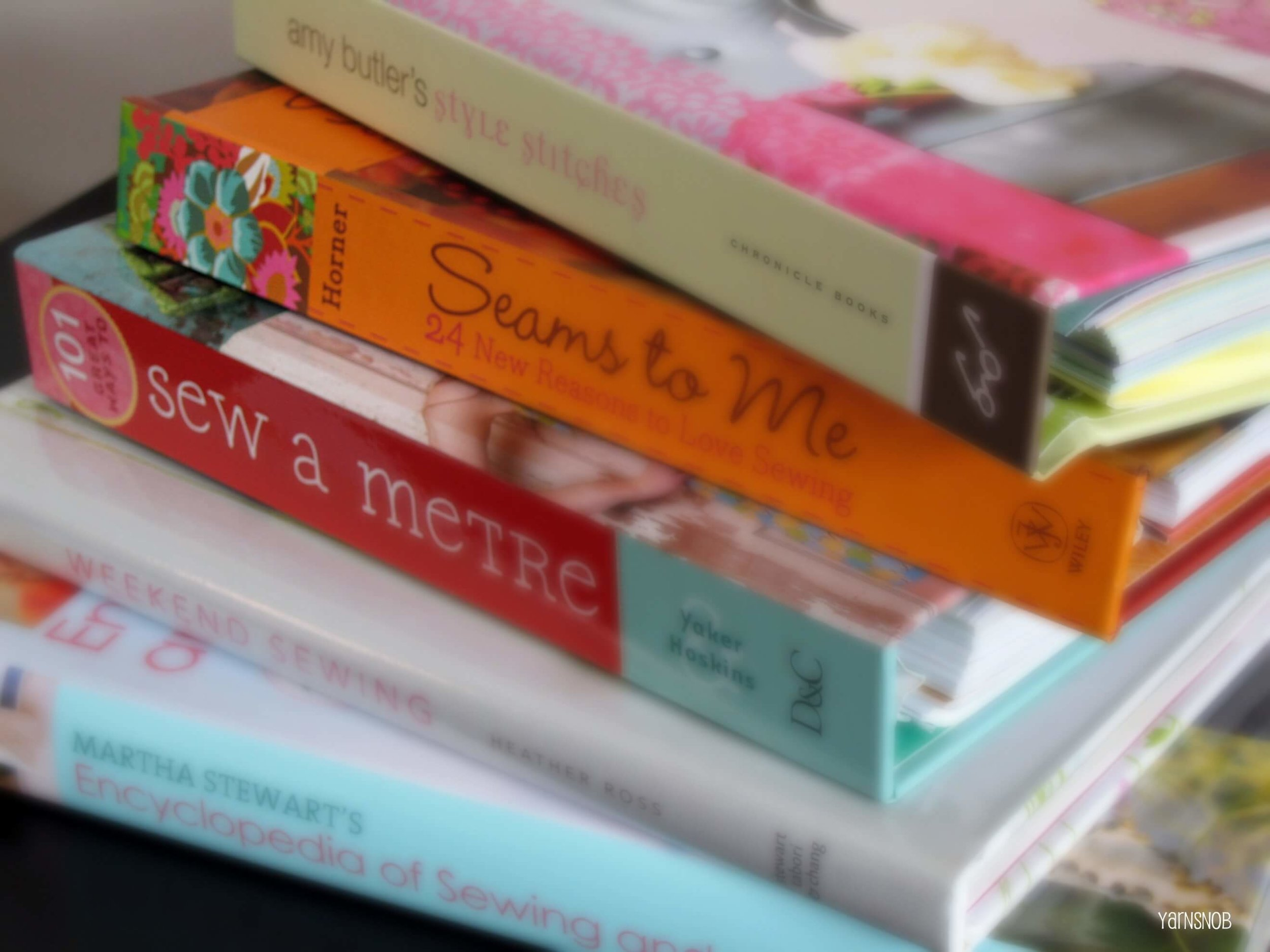Sewing Books - It's always good to have some sewing books to look back on when learning to sew. I found a few sites but rather have books. That way I can mark notes in them if needed and easy to reference instead of having to search the web all over again.