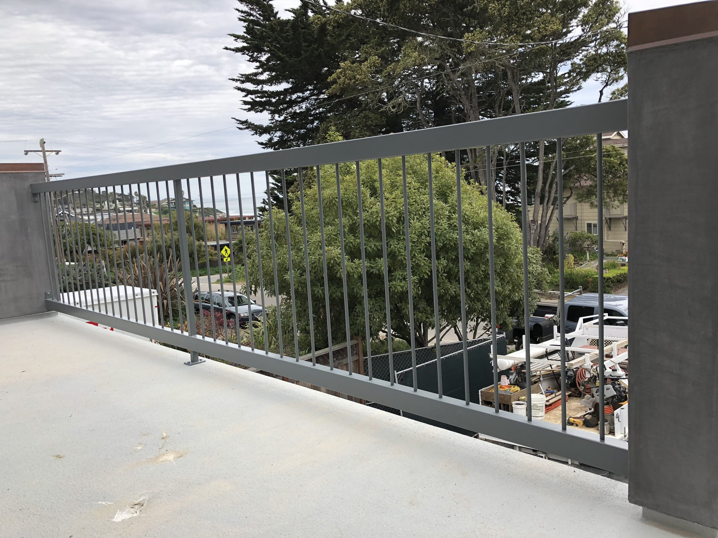 Powder Coated Stainless Steel Railing
