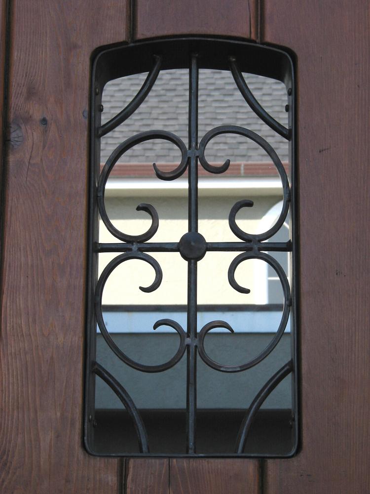 Bronze Door Panel