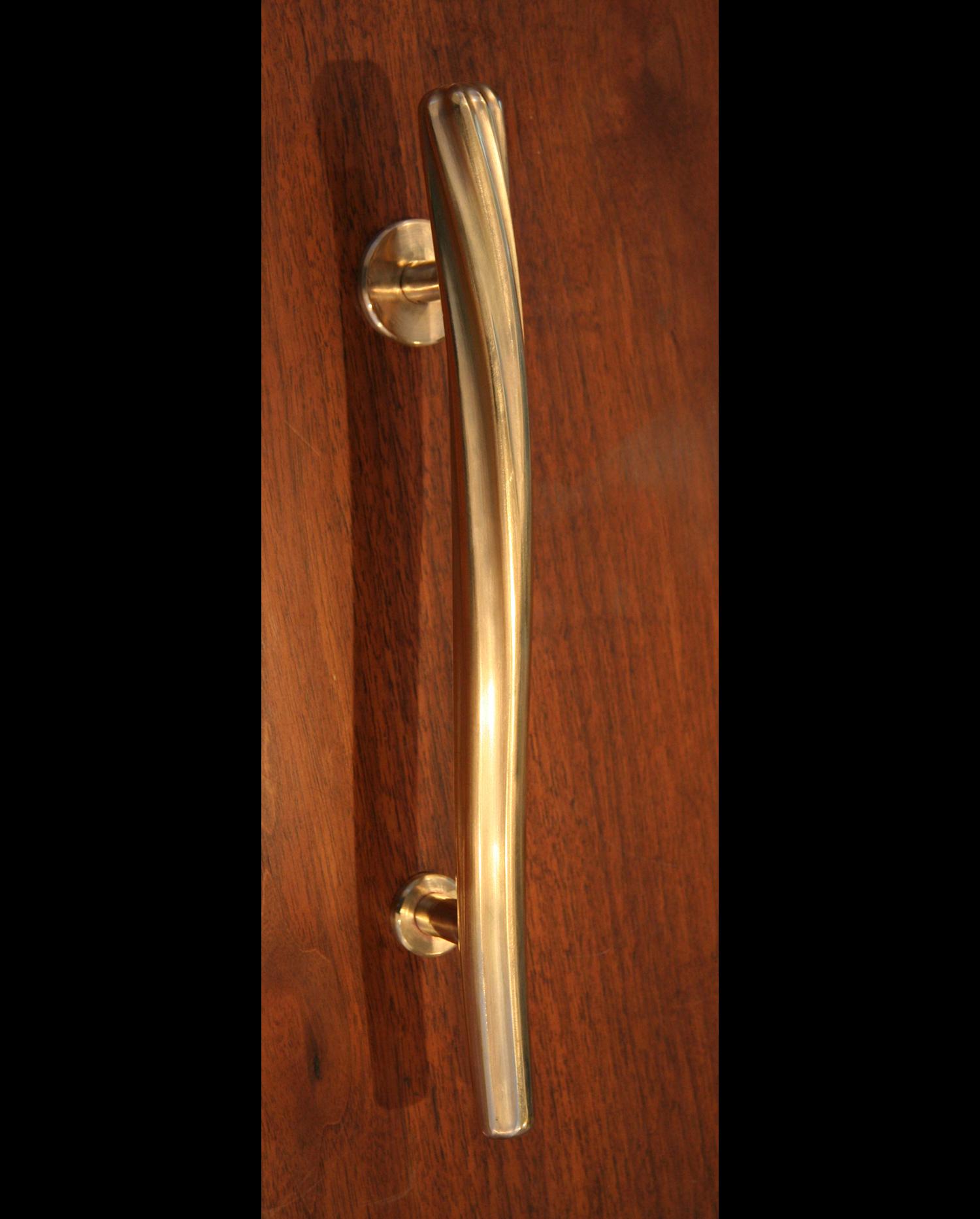 Brass Twist Door Handle