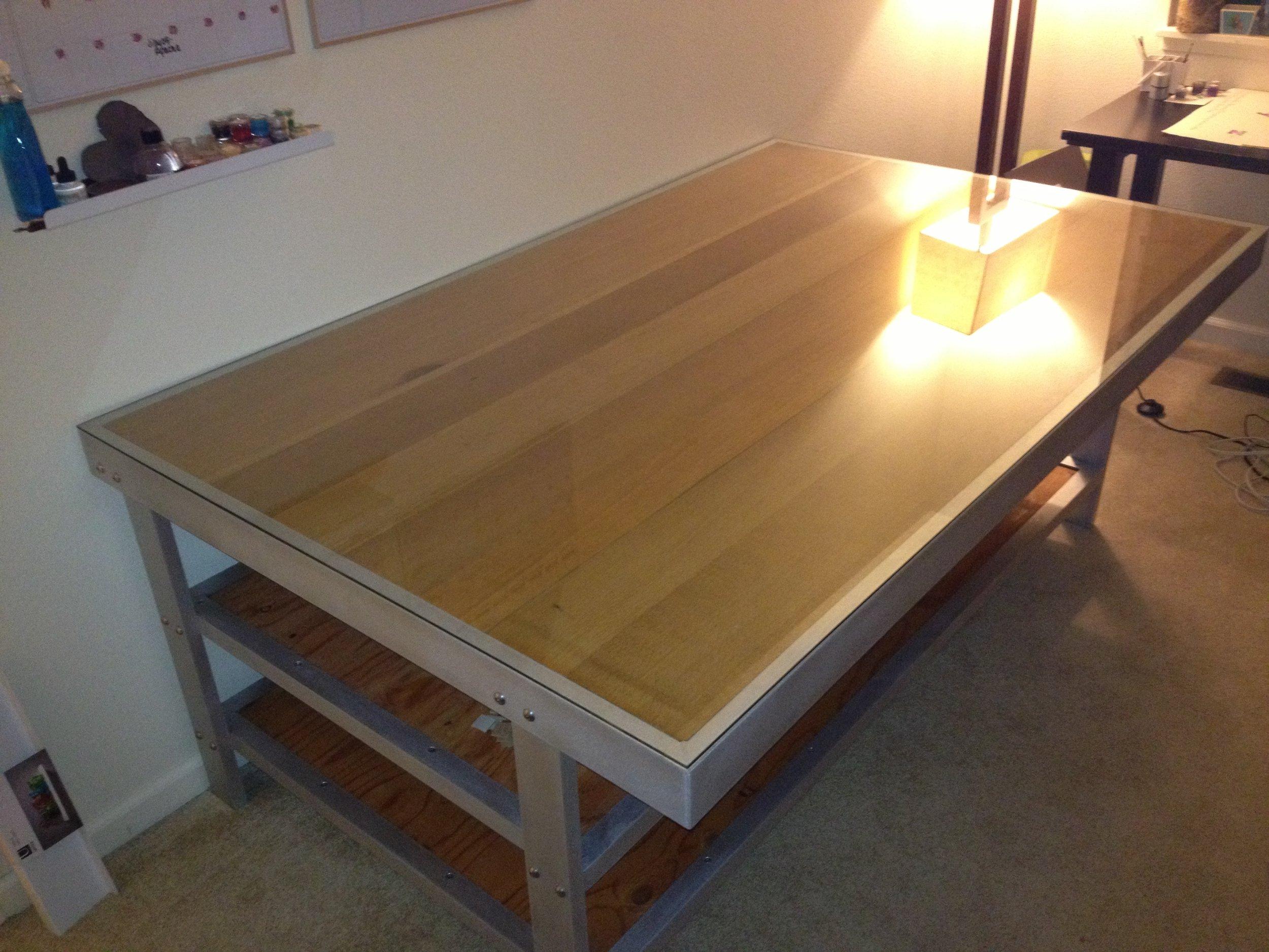 Aluminum Table Frame