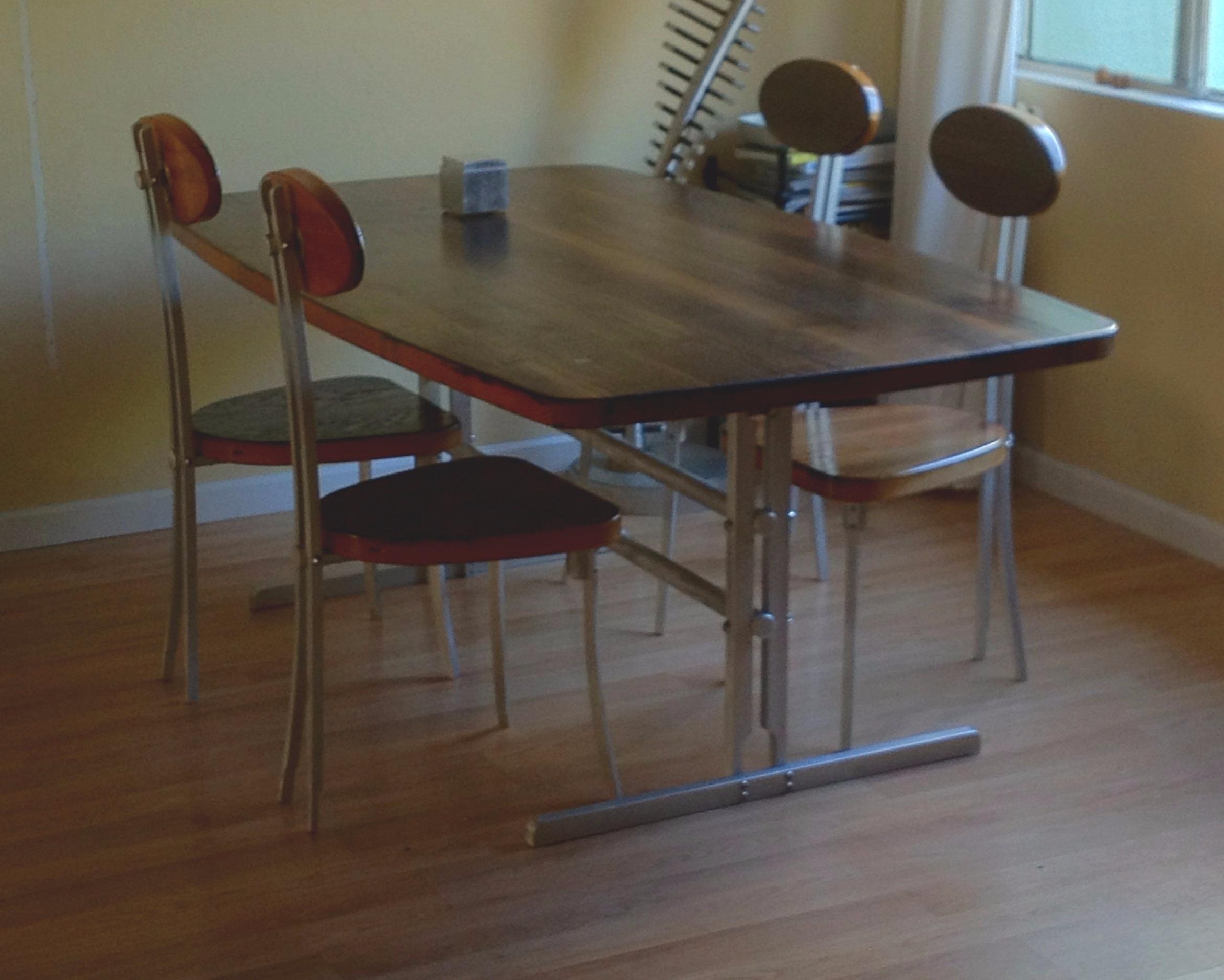 Aluminum Table & Chair Frames