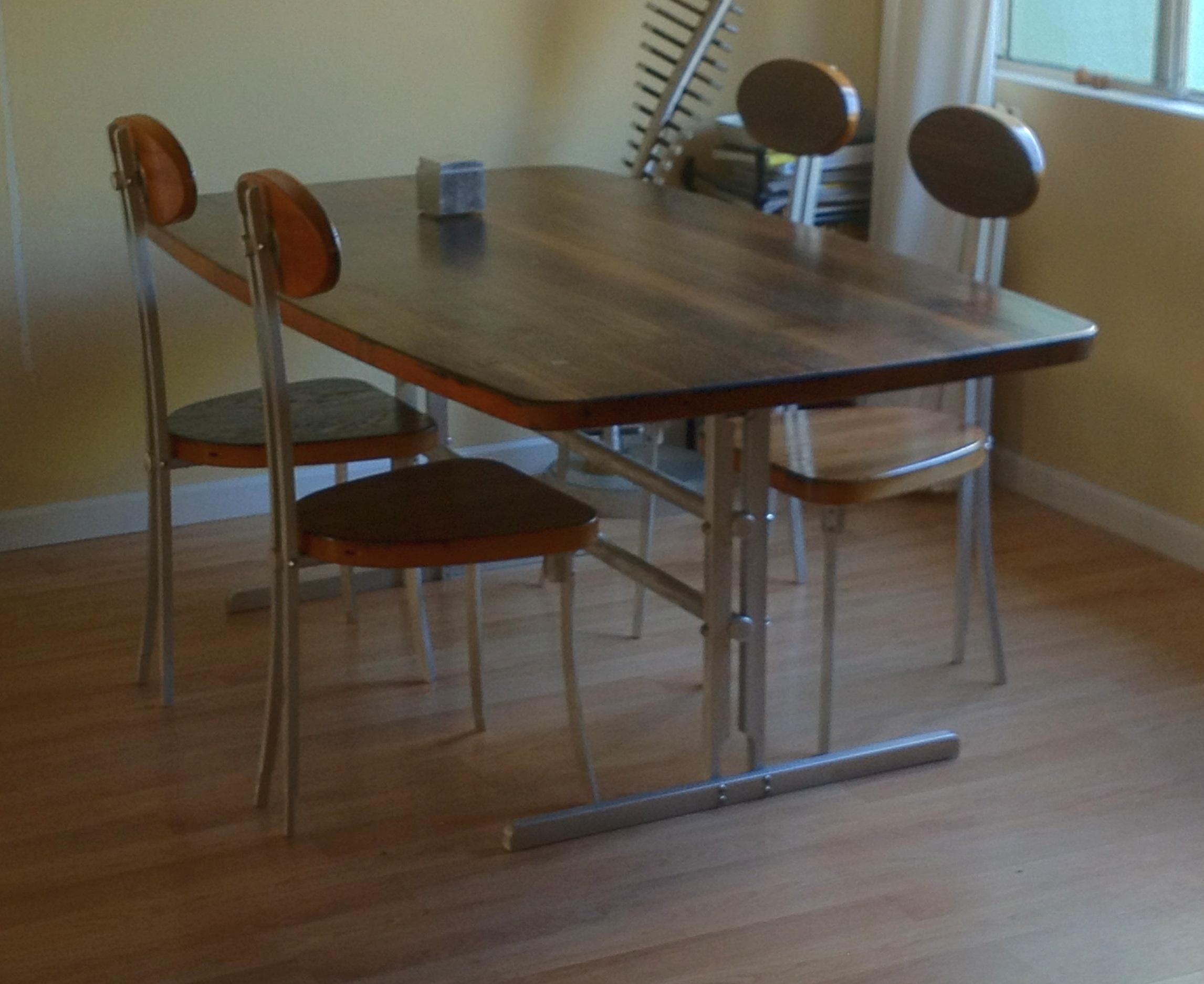 Aluminum Chair & Table Frames