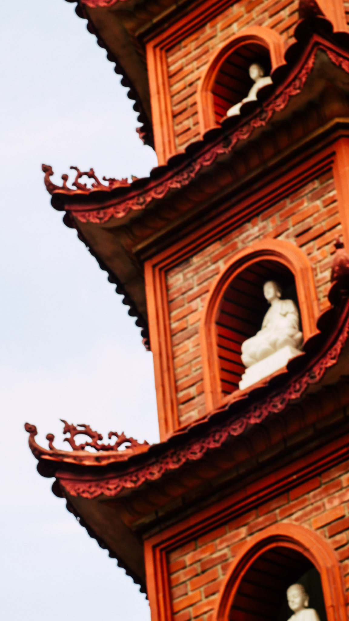 Photo by Alanna Foutz, at the Tran Quoc Pagoda