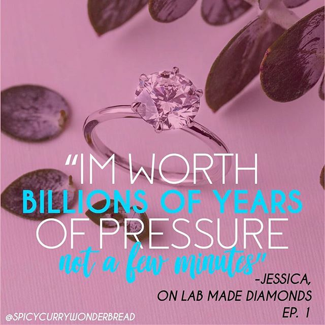 Know your worth 💁🏼‍♀️💁🏻‍♀️💁🏽‍♀️ tag a friend who deserves real diamonds 💍💎 . . . . . . . #womenincomedy #diverse #diversewomen #podcast #girlpodcast #indian #latina #whitegirl #realtalk #radio #tunein #funny #engagmentphotos #engagementring #labmadediamond #love #art #radio #episode #show #instapodcasts #instaradio #itunes #spotify #indie #entrepreneur #podcaster #ladiestalk