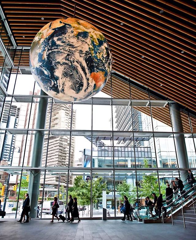 Meet one of our clients -  @vanconventions : the worlds 1st double #LEED Platinum convention centre. // Keeping their staff looking sharp in our Uniforms!