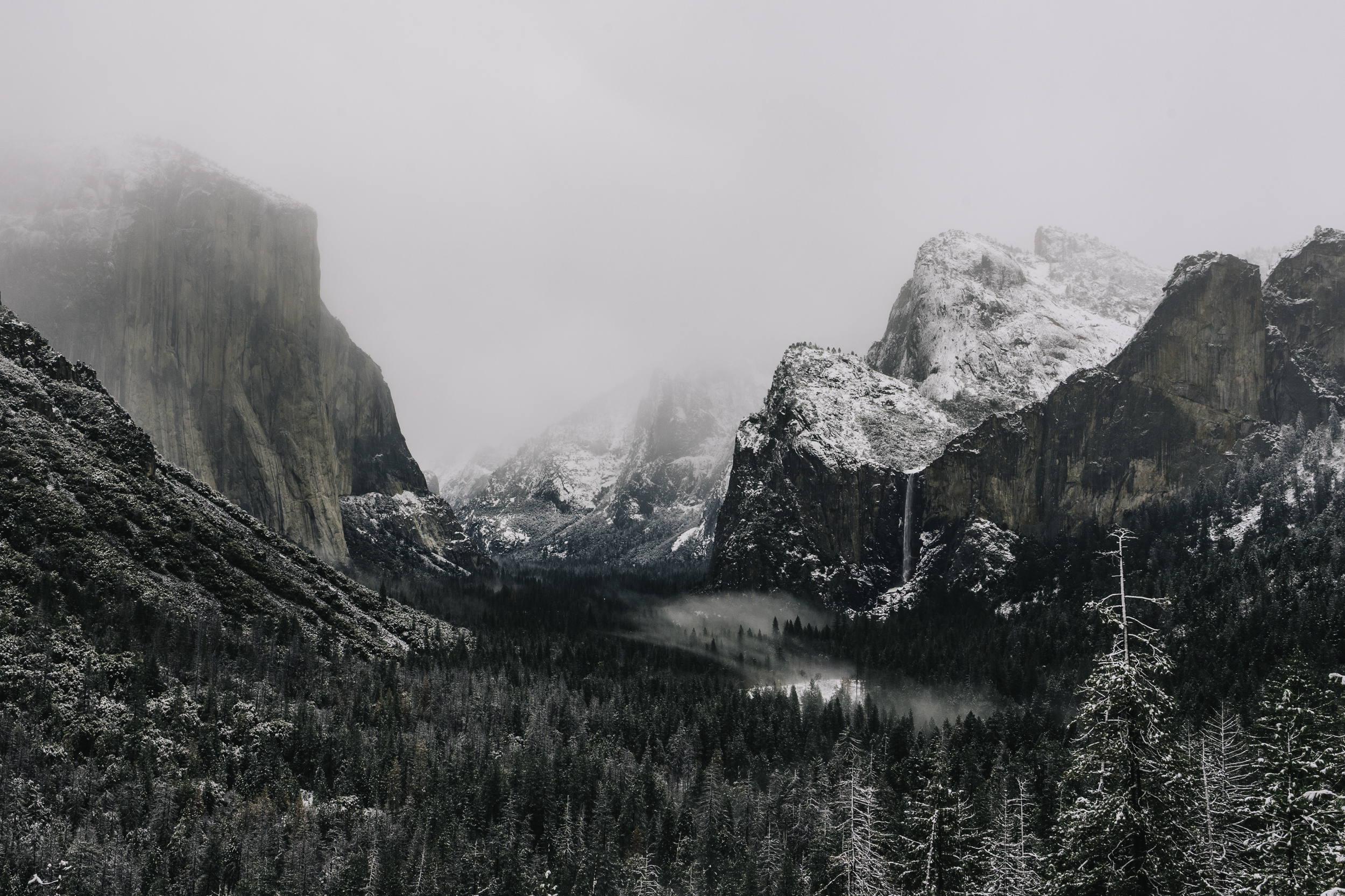 The Calm Before the Storm - Tunnel View -  Shop Prints