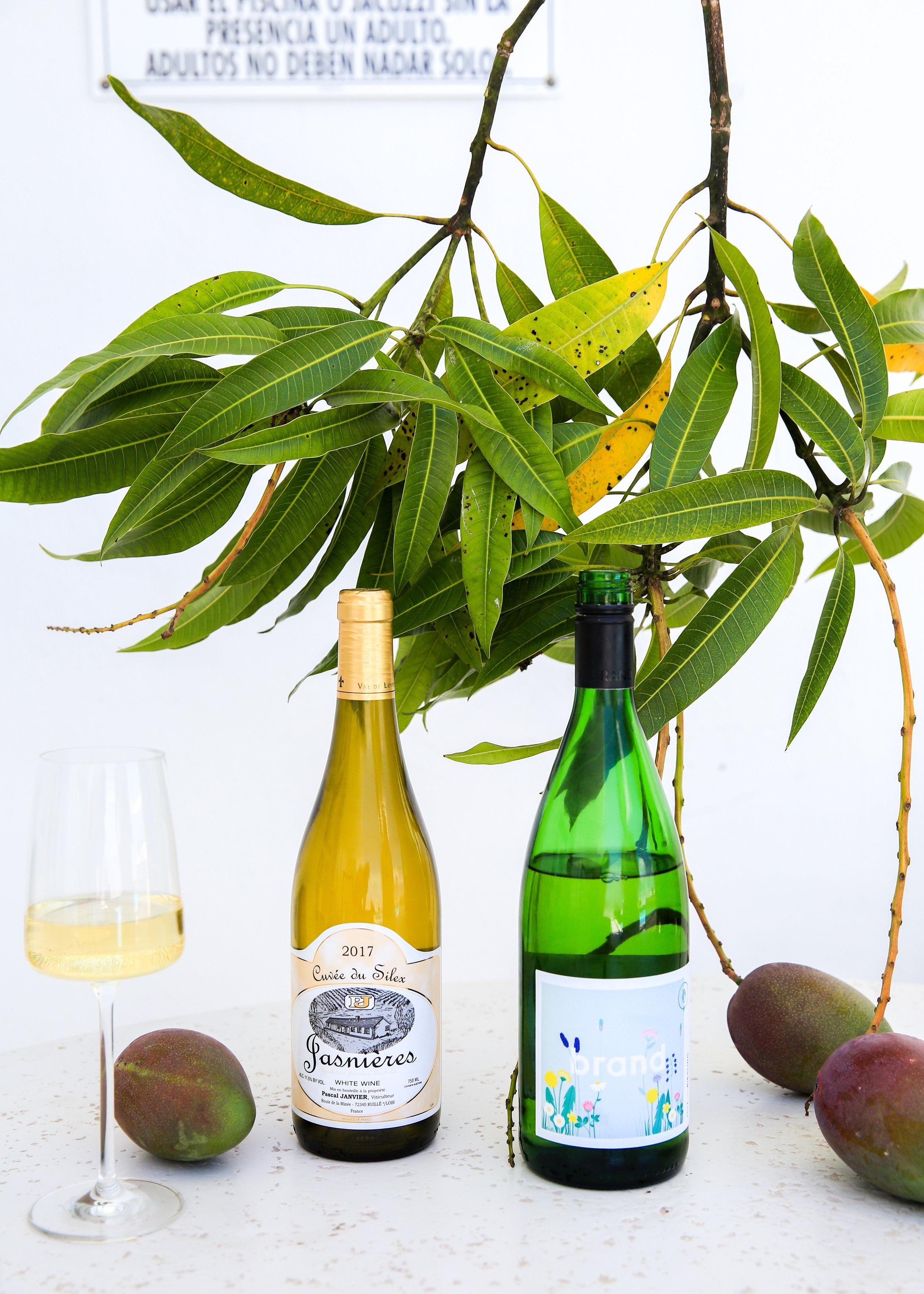 reisling mango wine pairing, natural wines that pair with mangoes