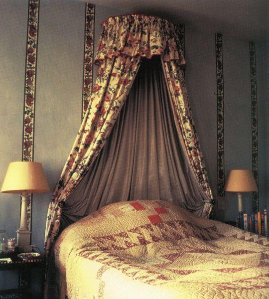 Main bedroom at Hunting Lodge