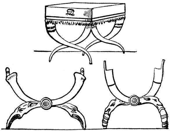 Curule stool